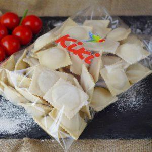 Заморожені равіолі з картоплею та вершками